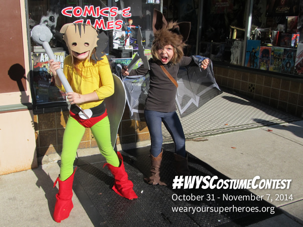 2014 Wear Your Superheroes Halloween Costume Contest